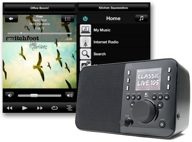 Logitech Squeezebox Controller for Android