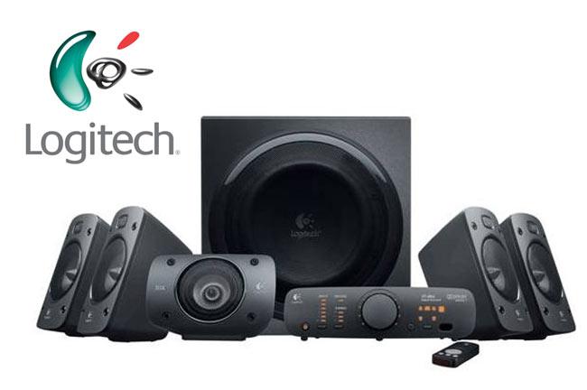 logitech launches z906 surround sound speakers. Black Bedroom Furniture Sets. Home Design Ideas
