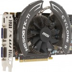 MSI N550GTX-TI Graphics Cards Announced