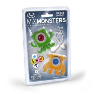 Make Your iPod Shuffle Stick Out With These Mix Monsters