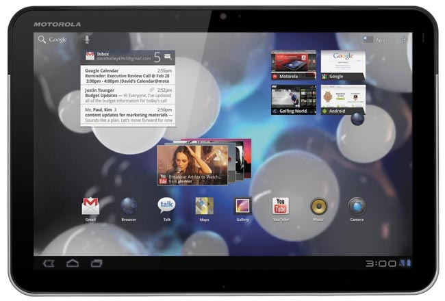 Motorola Xoom 3G UK To Cost £599