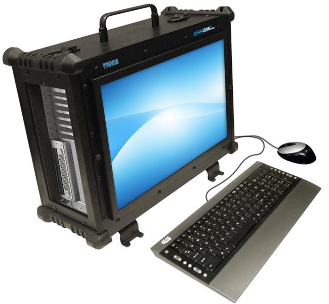 Nextcomputing Vigor Ex Rugged Portable Workstation Pc