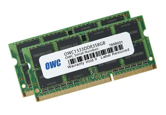 OWC 16GB Kit MacBook Pro