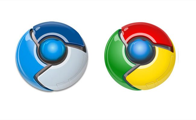 Old Chrome Logos