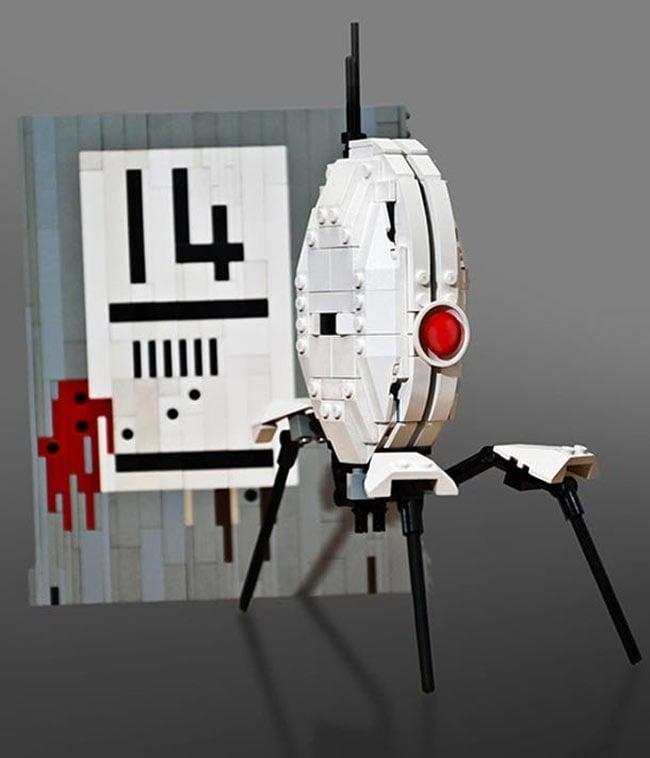 Portal Lego Sentry