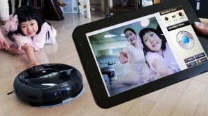 Samsung Offers Robot Vacuum Cleaner with Camera in Korea