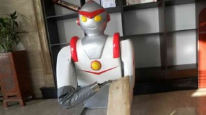 Chinese Cook Builds Noodle Shaving Robot