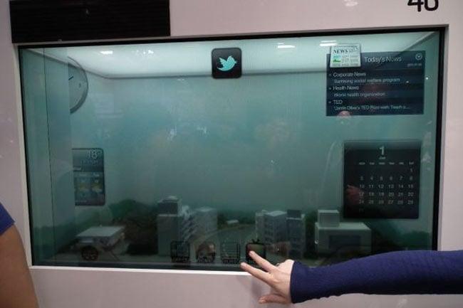 Samsung Transparent Display LCD