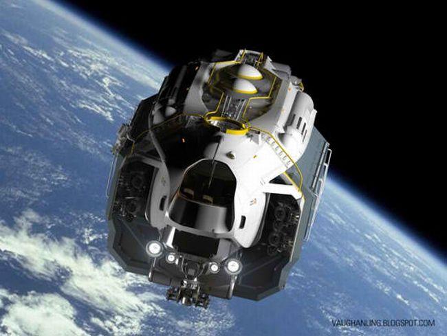 Space Dump Truck