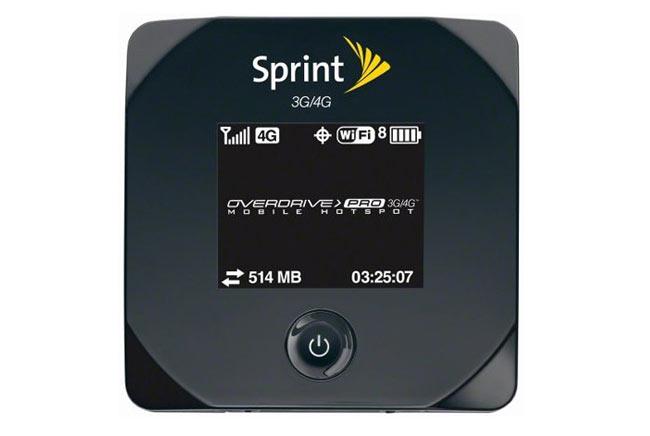 Sprint Overdrive Pro 3 Hotspot Router