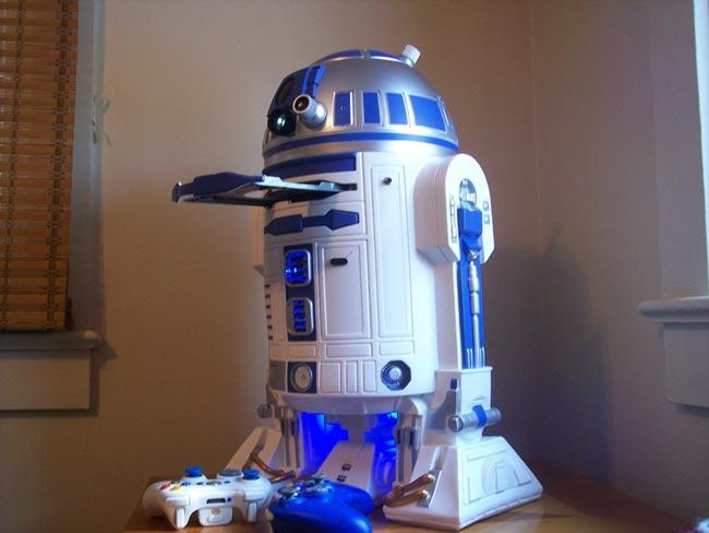 Star Wars R2 D2 Xbox 360 Mod Video