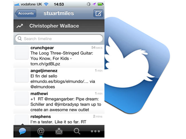 Twitter iPhone