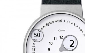 Zoomin Watch Concept Magnifies The Time