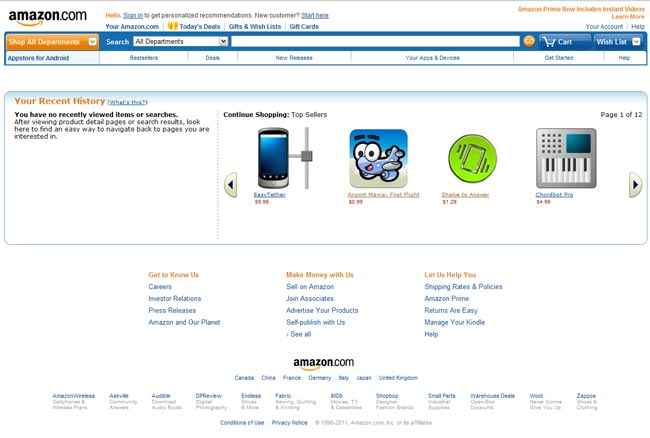 Amazon Launches Android App Store, Apple Sues Amazon