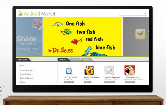 Android Market Google TV
