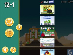 Angry Birds HD Update Features Advertising, Annoys Fans
