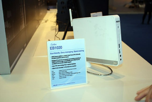 Asus Launches New Eee Box Nettops With AMD Fusion Processors
