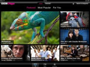 bbc iplayer ipad