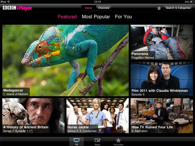 bbc iplayer ipad