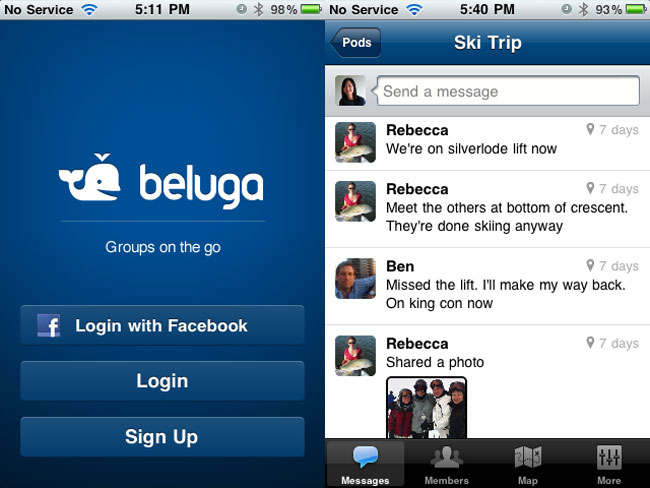 Facebook Acquires Group Messaging Service Beluga