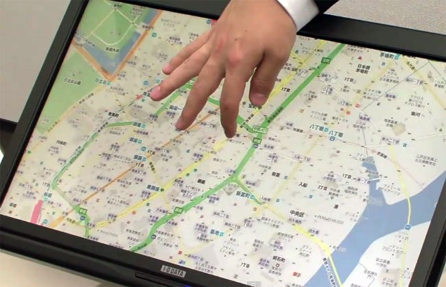 Flex Touchscreen display