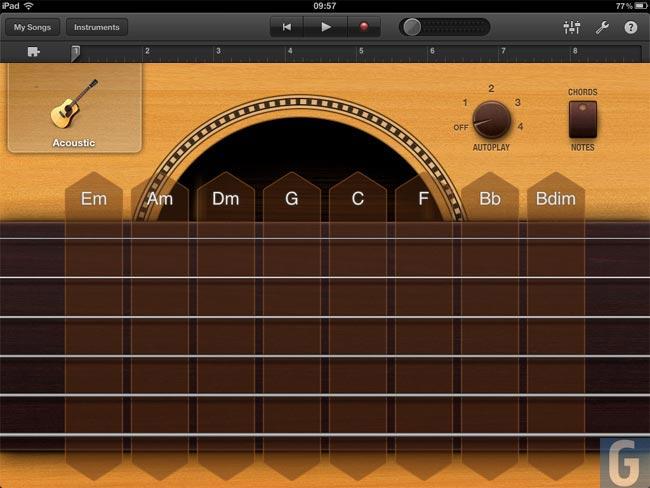 GarageBand 4