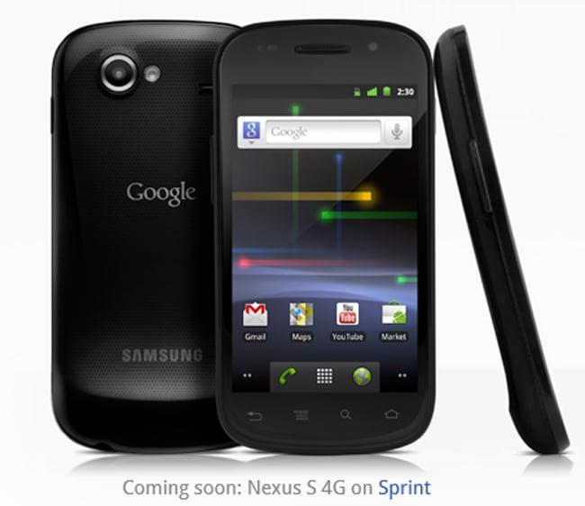 Google Nexus S Sprint