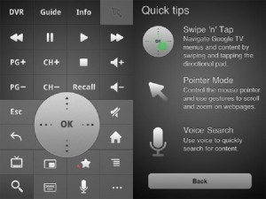 Google TV Remote App For iPhone Released