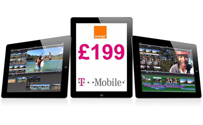 Orange UK Subsidised iPad 2 £199 From Tomorrow