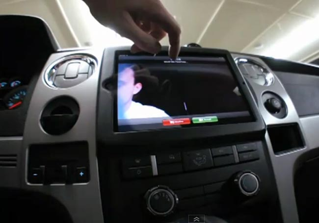 iPad 2 Installed In A Truck (Video)