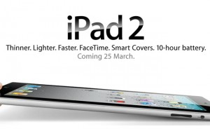 Apple Confirms International iPad 2 Launch March 25th