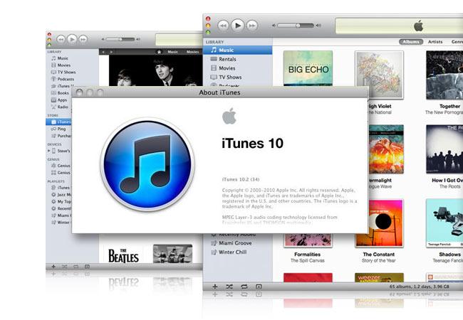 iTunes 10.2
