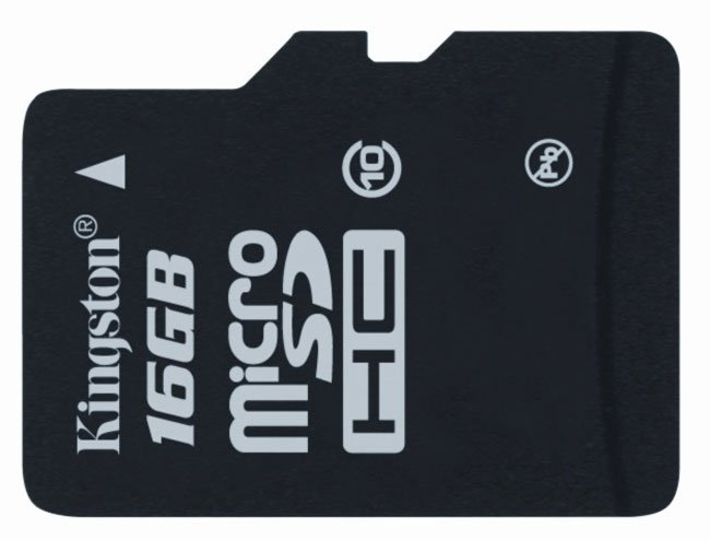 Kingston microSDHC Card