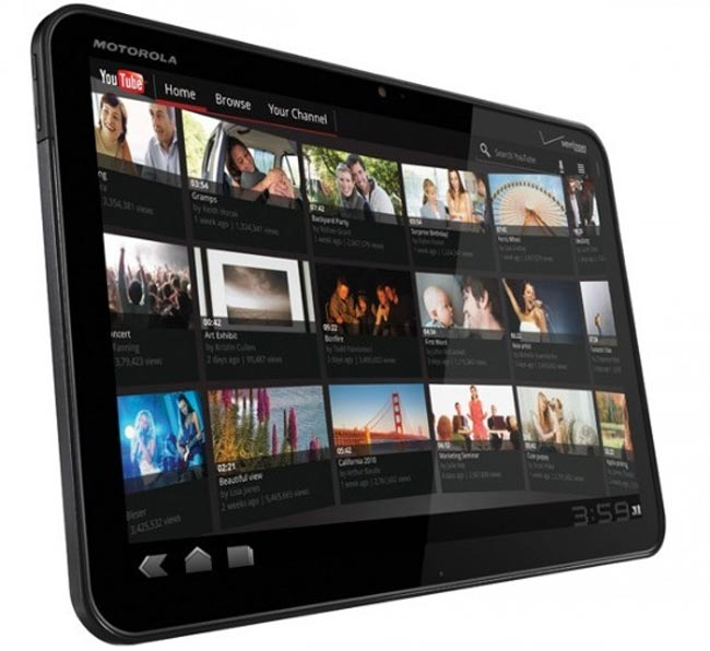 Motorola Xoom UK