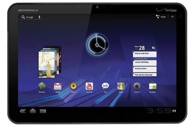 Motorola Xoom WiFi Coming 27th March For $599