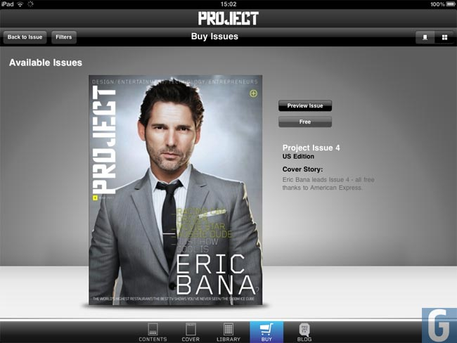 Project Magazine iPad App