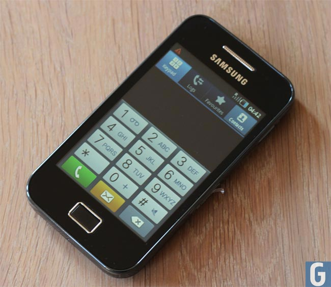 samsung galaxy ace hands on photos. Black Bedroom Furniture Sets. Home Design Ideas