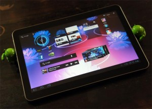 Samsung Galaxy Tab 10.1 In Action (Video)