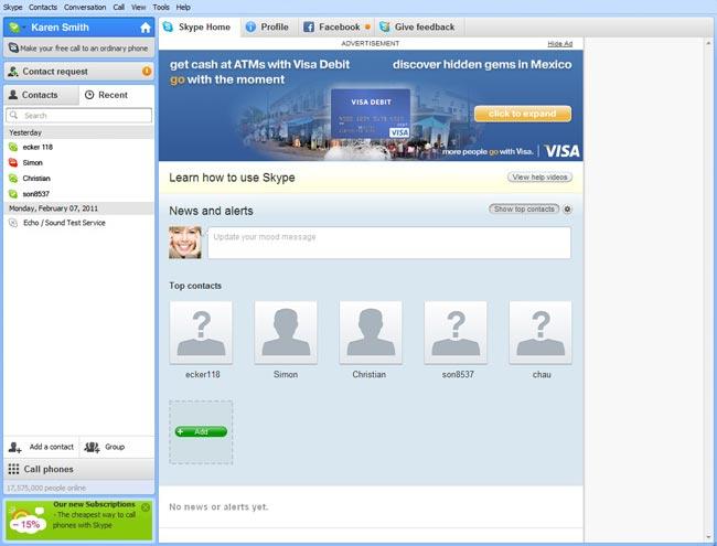 Skype To Include Advertising This Week