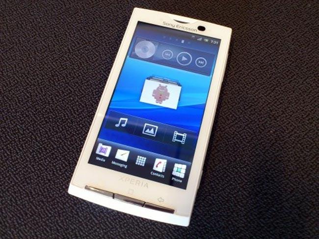 Sony Ericsson Xperia X10 Gingerbread