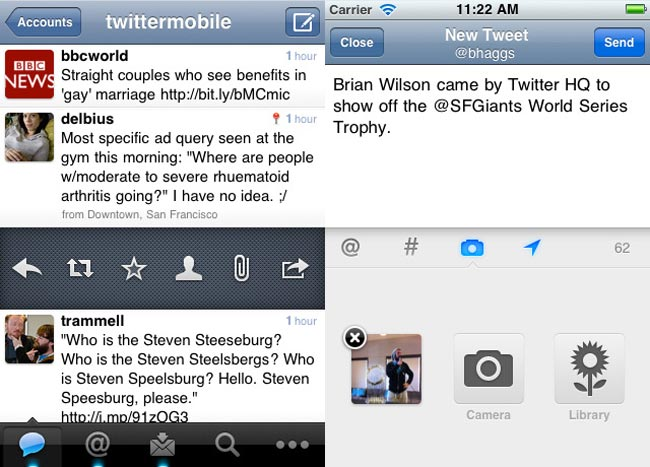 Twitter iPhone And iPad App Updated