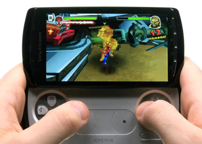 Gameloft Xperia Play Games