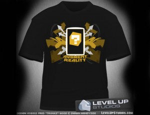 3DS Augment Reality Card T-Shirt (video)