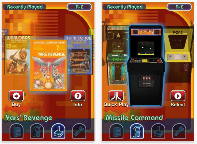Atari iPhone Games