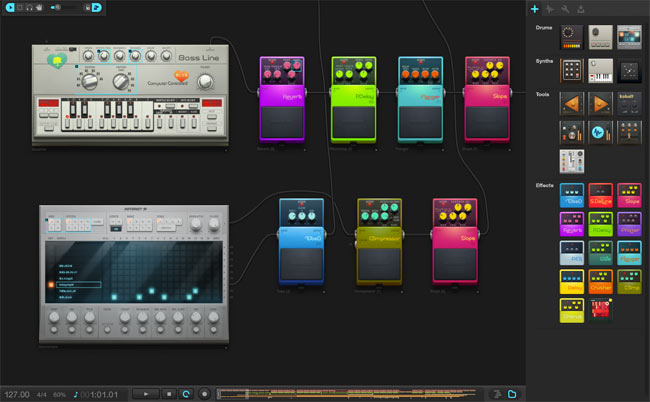 Audiotool Cloud Based Music Studio