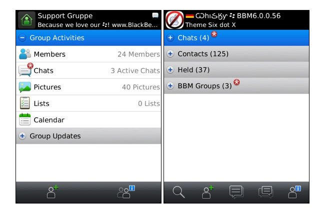 BlackBerry Messenger 6