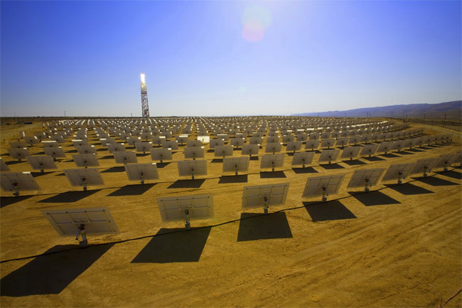 BrightSource solar power plant