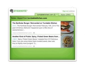 Evernote Clipping