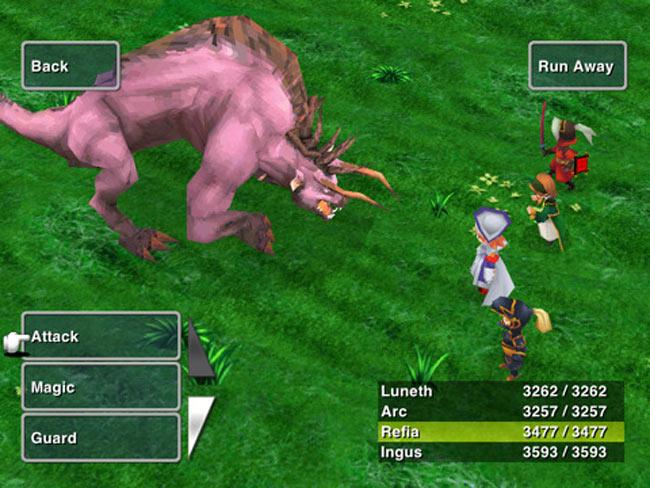 Final Fantasy III ipad