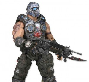 Exclusive First Glimpse Of Gears Of War Clayton Carmine Figurine